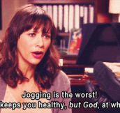 Jogging Is Not That Cool