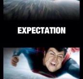 Flying: Expectation Vs. Reality
