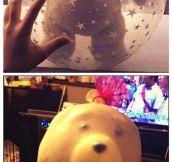 Teddy Got Stuck In A Balloon