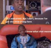 Excellent Delivery By Tracy Morgan
