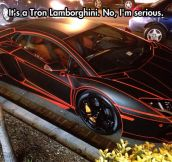 The Incredible Tron Lamborghini