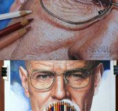 Breaking Bad, Hyperrealism In Crayon
