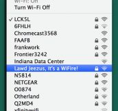 That WiFi Name
