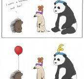 I Want A Balloon Hat Too