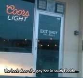 Using The Backdoor