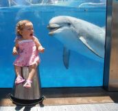 And Just Think, Her Parents Put Her There On Porpoise