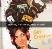Getting Creative With Your Hair