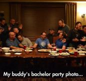 The Last Bachelor Supper