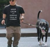 A Lannister Always Walks His Pets