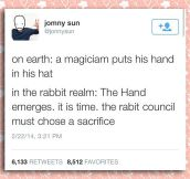 Magic In The Rabbit Realm