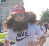 So I Saw This Guy Running A Marathon