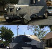 The Car Of A Supervillain