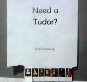 Free Tudoring