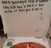 Pizza Box Joke
