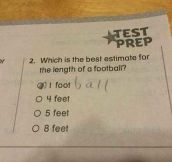 Good Answer, Kid