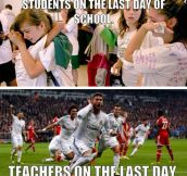 Teacher's Time Of Relief