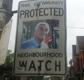 The Coolest Neighborhood Watch