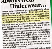 Underwear Always