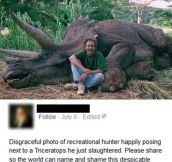 Steven Spielberg Is Hunting Triceratops (3 Pics)