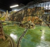 World's Largest Model Railroad (8 Pics)