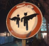 A Traffic Sign in Serbia