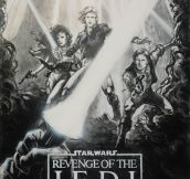 Concept Poster For Revenge Of The Jedi