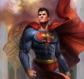 Superman by Steve Goad