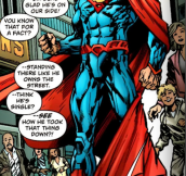 This is probably one of the best poses Superman has done so far in New 52 continuity