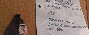 13 Funny Passive Aggressive Laundry Notes
