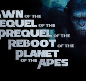 A Tribute To The New Planet Of The Apes Movie