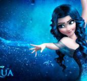 Frozen's Elsa Water Version