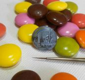 Painting On An M&M