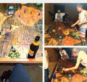 Risk Wooden Table