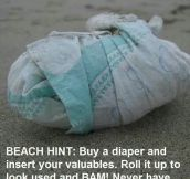 Smart Idea When Going To The Beach