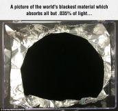 World's Blackest Material