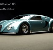 Bugatti Veyron, From The Year 1945