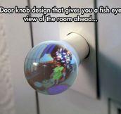 An Indiscreet Door Knob
