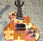 Great Homemade Guitar