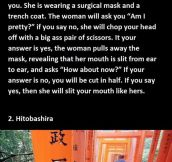 Horrifying Japanese Urban Legends