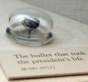 The Bullet That Killed Abraham Lincoln