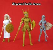 Barbie-Compatible 3D Printed Medieval Armor