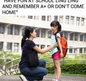 Asian Kids Have A Tough Childhood