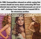 Don't Trust What You Read In Magazines