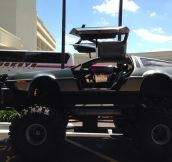 Monster Delorean Truck