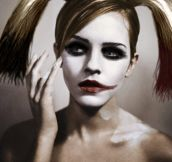 Emma Watson As Harley Quinn