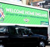 Welcome Back, England