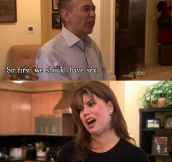 Gilbert Gottfried On Celebrity Wife Swap