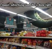 Godzilla Advertising Done Right