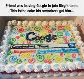 Good-Bye Cake
