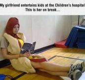 The Hot-Dog Girl
